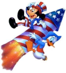 4th-July-Mickey-Donald-Rocket
